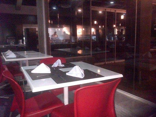 Laguna Mar: dentro del restaurant