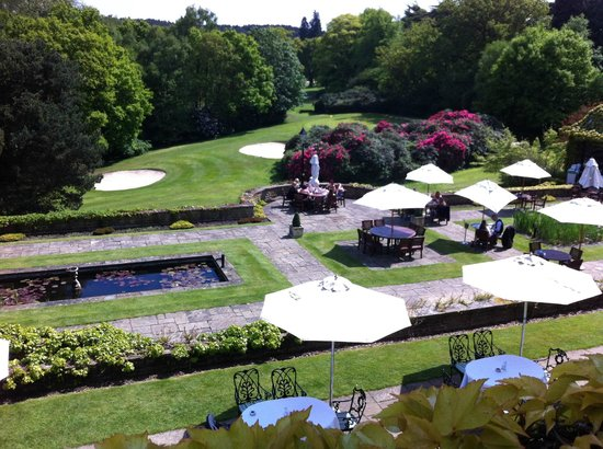 Pennyhill Park, an Exclusive Hotel & Spa: View from our room