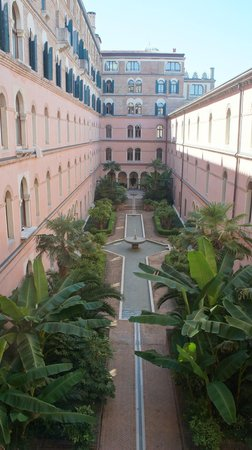 Hotel Excelsior: área externa