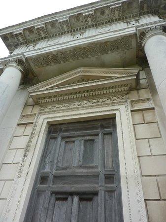 Casino Marino: Casino architecture over the front door