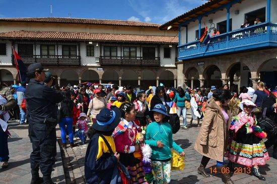 El Virrey Boutique Hostal: Armas De Plaza Cusco