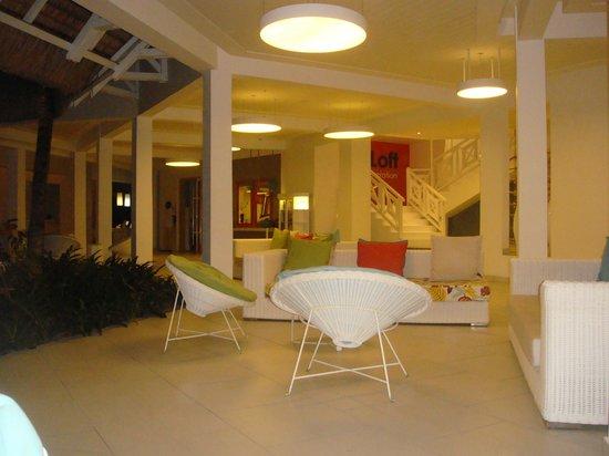 Ambre Resort & Spa: reception