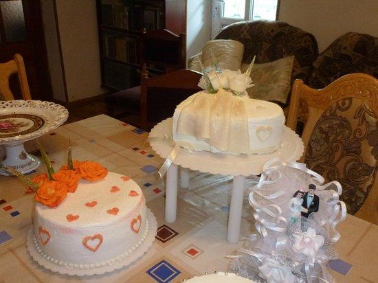 B&B Iris: Irine bakt prachtige taarten