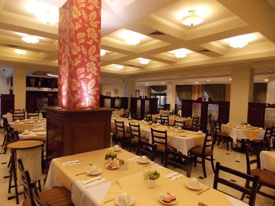 Hotel Plaza Campeche: sala colazione