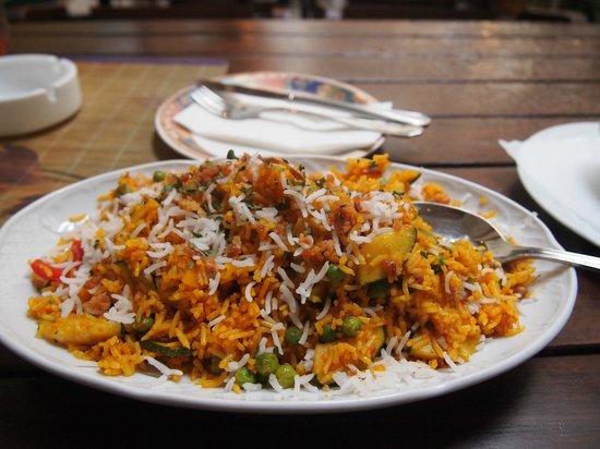 Hanas Rasoi: Vegetarian biyani