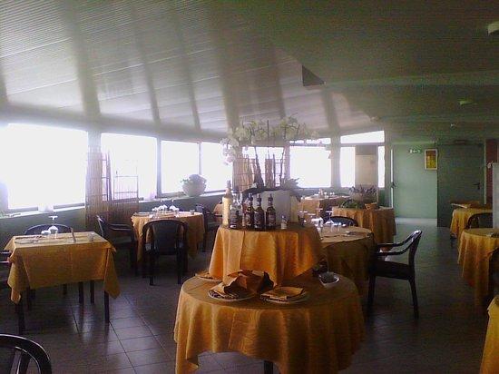 Hotel Rocce del Capo: Restaurante para o Jantar.