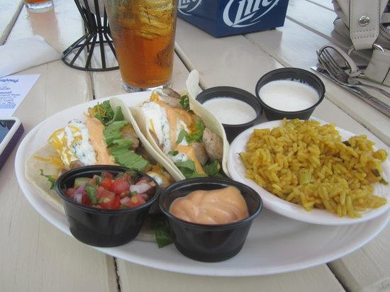 Coinjock Marina and Restaurant: Tuna Taco's -YUMMY