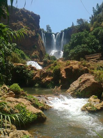 Hotel Chellal d'Ouzoud : the waterfalls