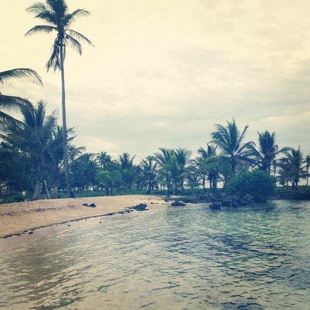 Akwadup Lodge: beach