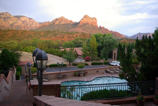 Best Western Plus Arroyo Roble Hotel & Creekside Villas: view from room