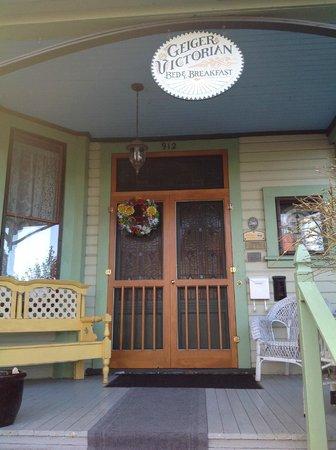 Geiger Victorian Bed & Breakfast: welcome!