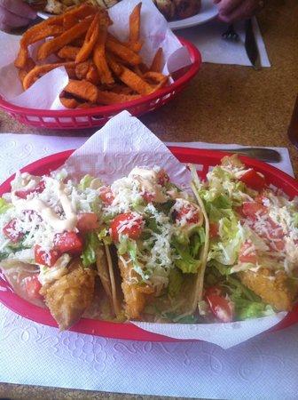 Ma's Fish Camp: Baja Fish Tacos