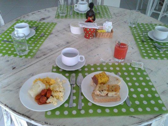 Hostel Maracabana Boutique: Café da manhã