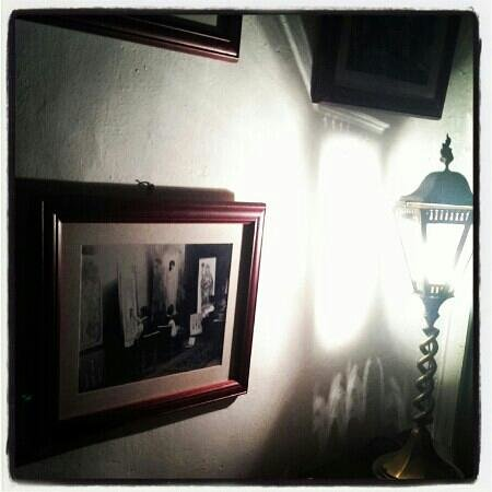 Haunted, 35 Stonegate: in the spooky hall way....