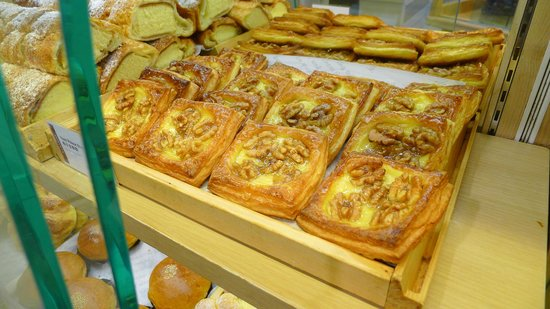 Typical breakfast breads from A-1 Bakery