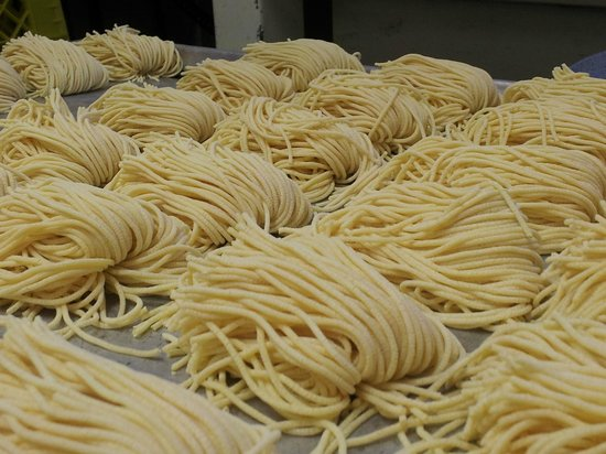 Cimo Mediterranean Grill: Freshly made pasta daily
