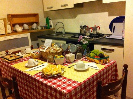 Residenza Carducci: cucina a disposizione degli ospiti