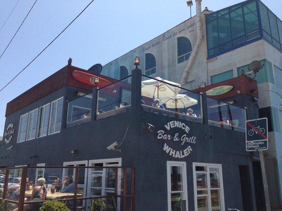 Venice Whaler Bar & Grill : 2nd floor of Venice Whaler