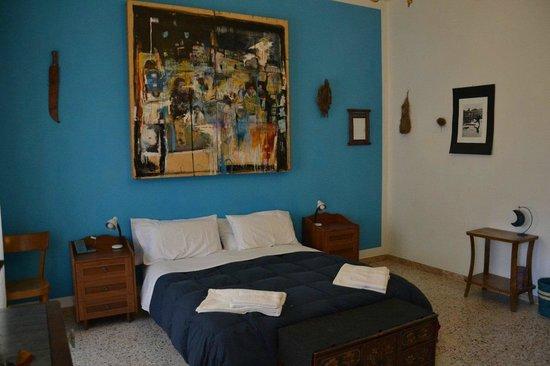 Boipeba Bed and Breakfast: Türkises Zimmer