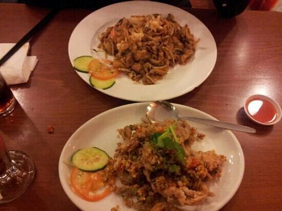 Rumours Kopitiam: soft shell crab..yum!!