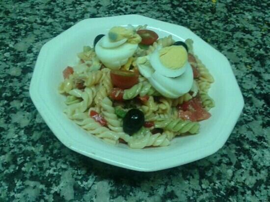 restaurant tot ru en: ensalada de pasta