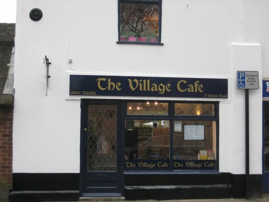 The Village Cafe: New owners, new name, new logo!