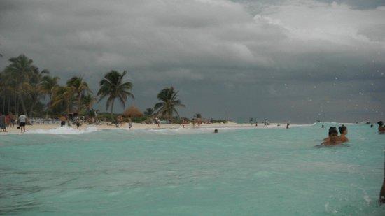El Paraiso Tulum: playa