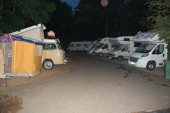 Camping Vliegenbos: The pitch