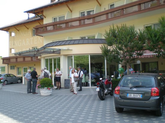 Weingarten: Entrada del hotel