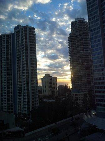 Watermark Hotel & Spa Gold Coast: Morning view