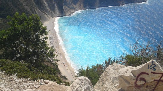Filoxenia Apartments: myrtos from above