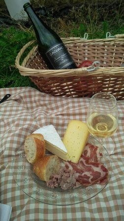 La Route des Vins : Our Picnic at Vignoble Gagliano!