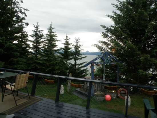 The Alaska Beach House: Another view from our room.