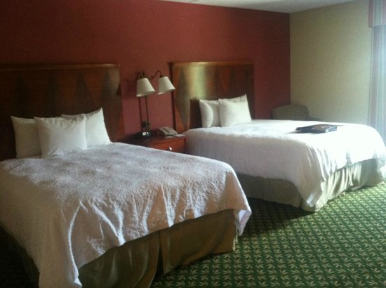 Hampton Inn & Suites By Hilton Williamsburg-Central : Comfy beds