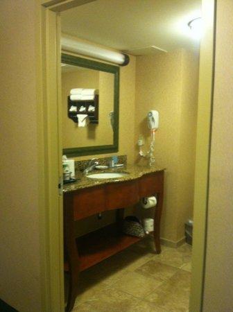 Hampton Inn & Suites By Hilton Williamsburg-Central: Nice, clean bathroom