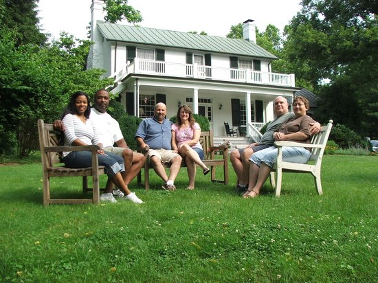 Inn at Monticello: Great Friends and a Great Place