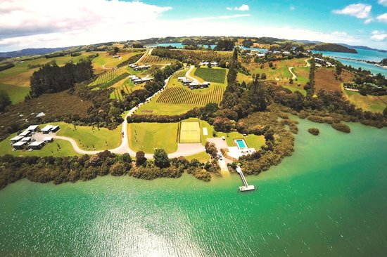 From the air, latest aerial shot of Riverside Matakana