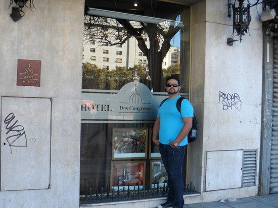 Hotel Dos Congresos: Frente do Hotel