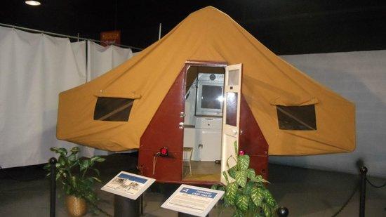 Northeast Classic Car Museum Vintage Pop Up Camper