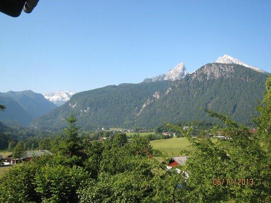 Stoll's Hotel Alpina: from upper room balcony