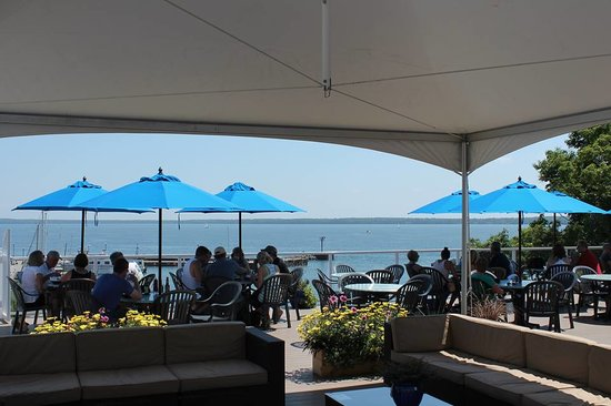 The Bayfield Inn Deck