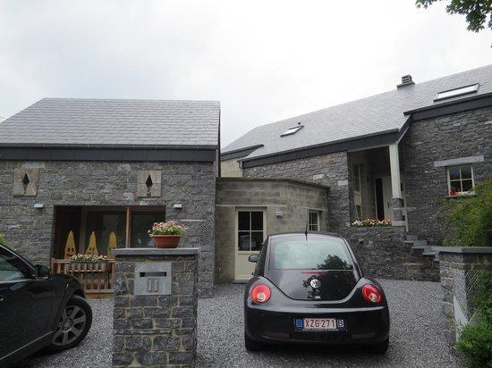La Bonne Esperance: the house entrance