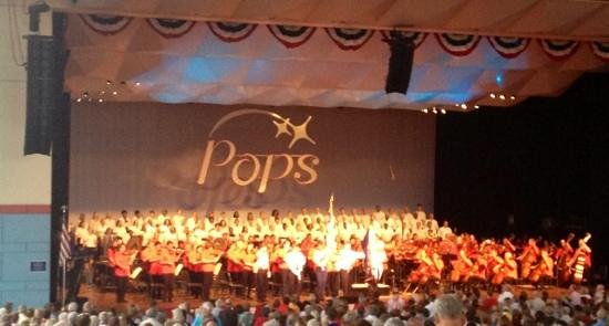 Riverbend Music Center: Cincinnati Symphony Pops presents Red, White and Boom!