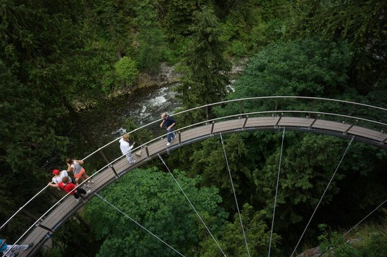Kuzey Vancouver, Kanada: The Cliff Walk
