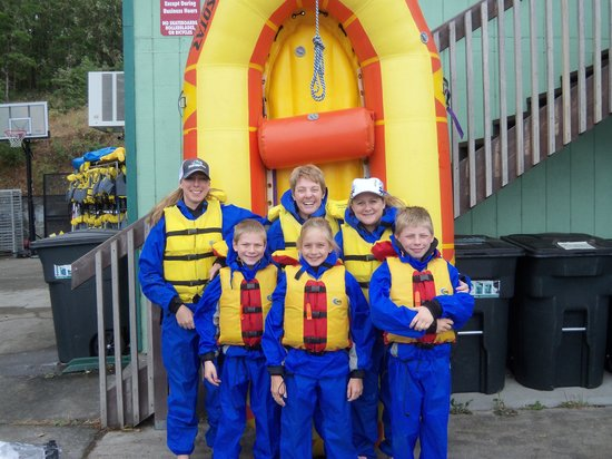 Morrisons Rogue Wilderness Adventures: Family trip