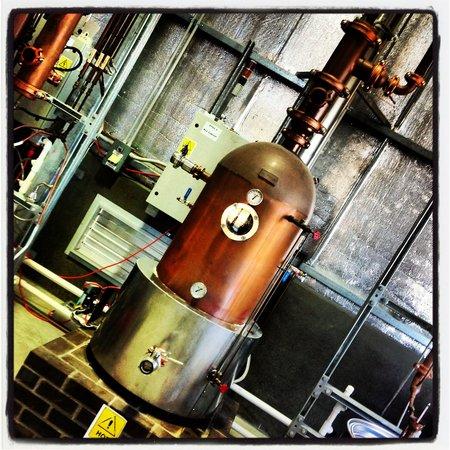 Hunter Distillery: Hard at work