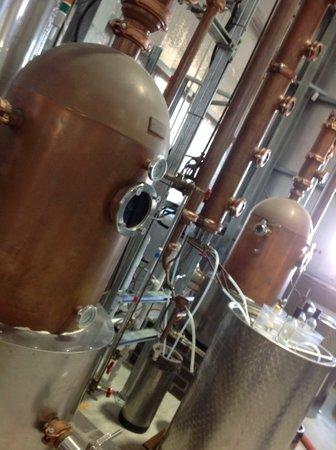 Hunter Distillery: Making lots of vodka