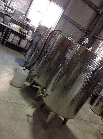 Hunter Distillery: Lots and lots of vodka