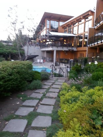 Brentwood Bay Resort & Spa: just outside our room