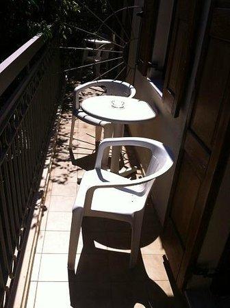 Pepi Studios: our balcony
